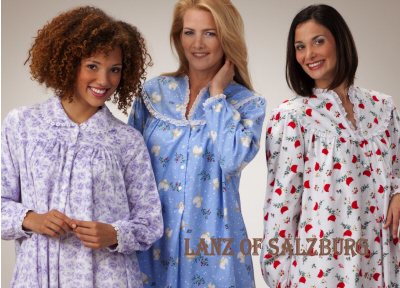 flannel - Flannel Nightgowns