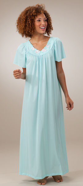 We offer women's long nightgowns sleepwear to wear. Filter by size, color, brand, style, and taste. Get Free Shipping on orders at HerRoom.