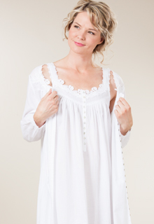 Peignoir Sets of matching nightgowns and robes! Peignoir sets are perfect for bridal lingerie or for any woman who appreciates the luxury of feeling feminine. Browse silky floor length night gowns and matching robe sets in silky Shadowline nightgowns or try a cotton .