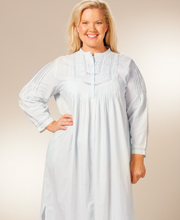 Plus Size Long Sleeve Nightgowns