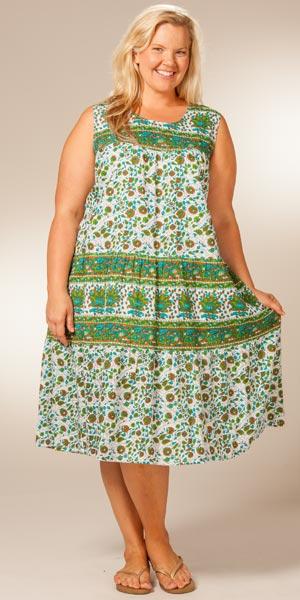 Beautiful Plus Size Cotton Sundresses Contemporary ...