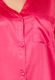 satin plus sleepshirt Winlar pink