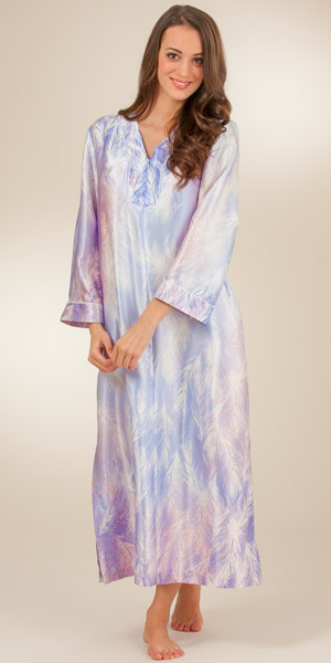 Kaftans loungers muumuu dresses caftans in satin for Caftan avec satin de chaise