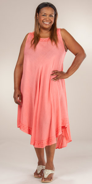 Cotton beach dresses plus size