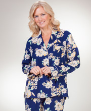 Carole Hochman Pajamas - Lightweight Flannel PJs in Amarillo