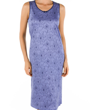 Calida Nightgown - Sleeveless MicroModal Gown in Zinnia