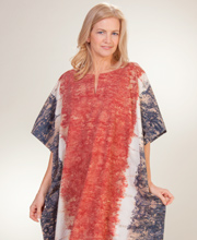Cotton Loungers - 100% Cotton Caftan by Peppermint Bay in Canyon