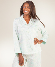 Pajamas for Women in Cotton, Satin, Flannel and Brushed Back ...