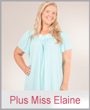 >Plus Size Miss Elaine