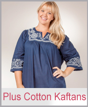 >Plus Cotton Kaftans