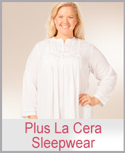 >Plus La Cera Sleepwear