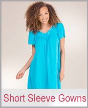 Short Sleeve Night gowns