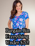 Shop Bargain Bin (Everything Under $20)!