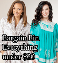 For great deals, check out our bargain bin for everything under $20!