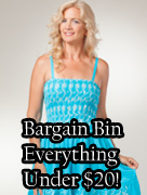 Shop our Bargain Bin for Everything Under $20!