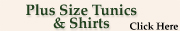 Plus Size Tunic Tops & Shirts at Serene Comfort