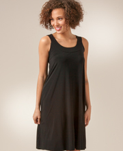Little Black Dresses - Ellen Parker Sleeveless A-Line Dress in Black