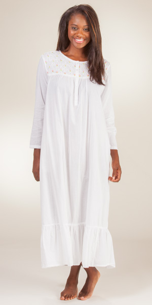 Long White Nightgowns