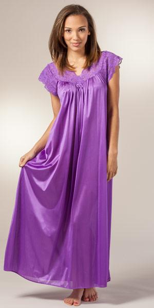Long Purple Nightgown