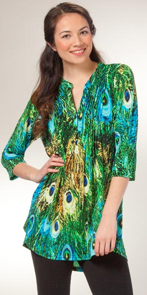 Shop Dillard's for the latest styles in women's casual and dressy tunics.