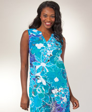 Maxi Dress - Sleeveless Rayon by Peppermint Bay - Water Whisper