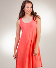 Ellen Parker A-Line Sleeveless Short Dresses in Coral & Pink Colors