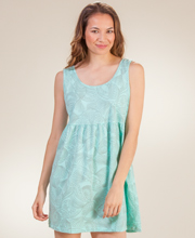 Cotton Sundresses - I Can Too Babydoll Cover-Up - Sea Pearls in Mint