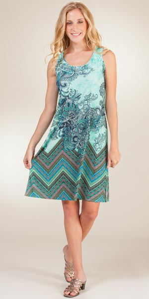 knee length day dresses