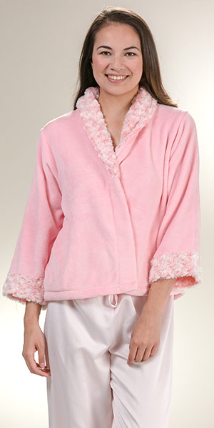 carole jackets hochman bed shop lyst product normal from pink carnation forever jacket s women