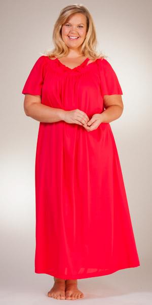 Nightgown Sleeves Nylon 72