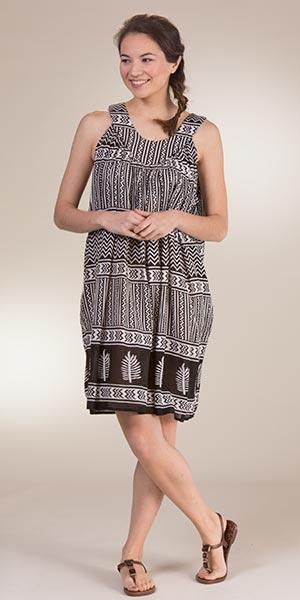 d4e5c368bae One Size Beach Dress - Semi-Sheer 100% Rayon Cover-Up in Ziggy