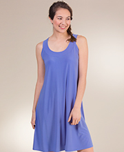 Sleeveless A-Line Dress by Ellen Parker in Periwinkle