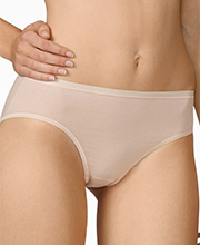 "Calida ""Comfort"" Cotton-Rich Hipster Panties in Nude (24526)"