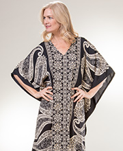 Sante Classics Kaftan - Long Polyester One Size Caftan in Star Lore