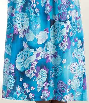 75d2bf24a Sleeveless Cotton Long Dress - Smocked Sundress in Gentle Waters