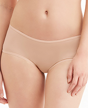 Montelle Boyleg Nylon Blend Panties in Nude