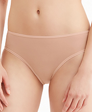 Montelle Brief Panties - High Cut Panties in Nude