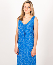Sleeveless Dresses - Blue Waters Rayon Cover-Up in Starfish