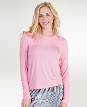Jane and Bleecker Long Sleeve Rayon Top in Assorted Colors