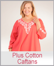Plus Cotton Caftans