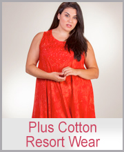 Plus Cotton Resort Wear