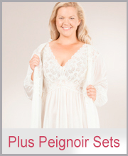 Plus Size Peignoir Sets