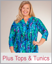 Plus Tunics Shirts Coverups