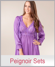 Shadowline Peignoir Nightgown Robe Sets