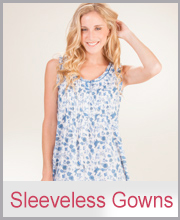 Sleeveless Sleepwear Gowns for Women