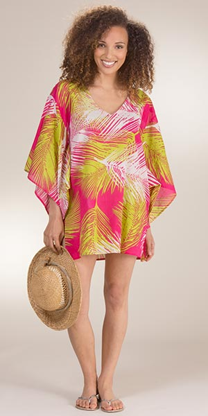 Peppermint Bay 100% Cotton Beach Cover Up in Divine